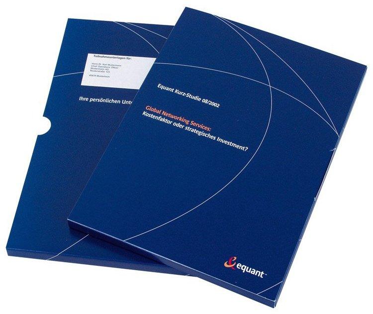 Leadgenerierung/Qualifizierung: Print-Mailing-Package für Umfrage